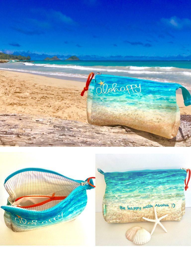バッグの中がハワイのビーチに!