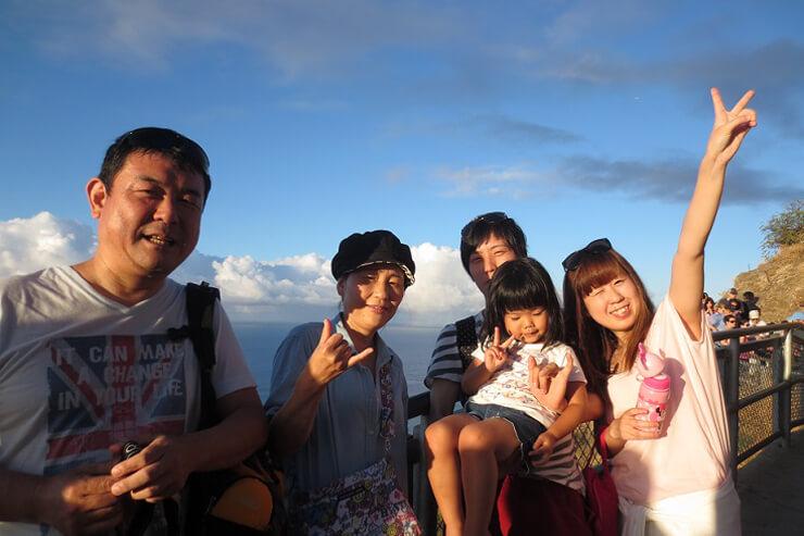 家族でGo!ダイヤモンドヘッド登山&朝食の新ツアー