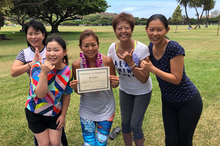 目指せスキルアップ!ハワイで学ぶ英語&ヨガ