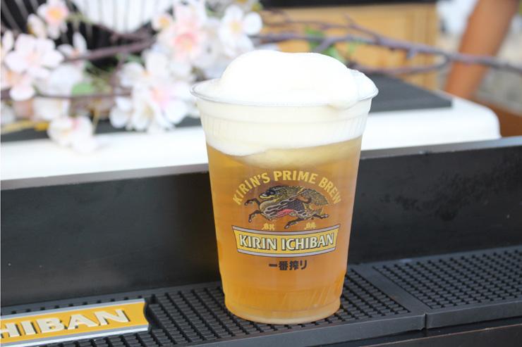 キンキンに冷えたフローズンビール