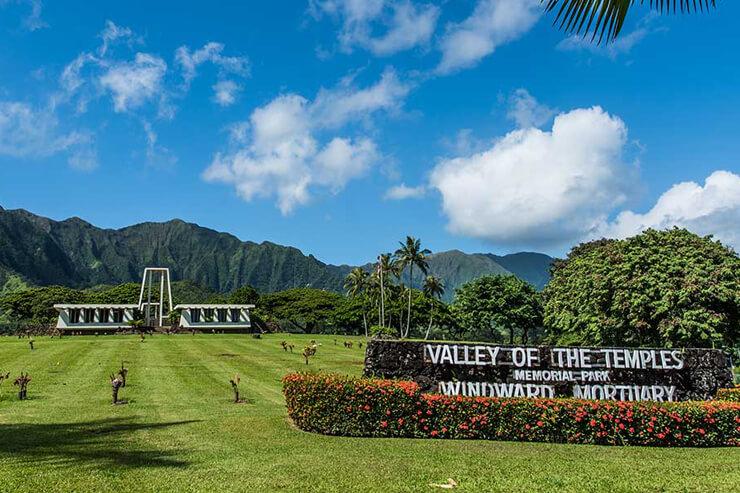 楽園の地ハワイで永遠に安らげる場所を!