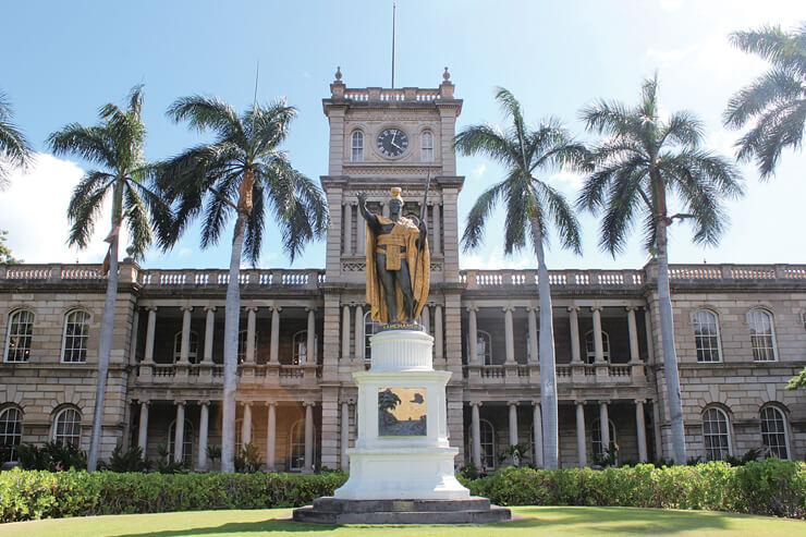 カメハメハ大王像はいくつある?…ハワイの雑学