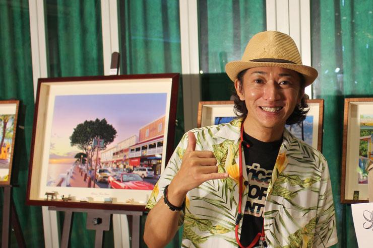 人気イラストレーター栗山義勝さん原画展、横浜で開催!