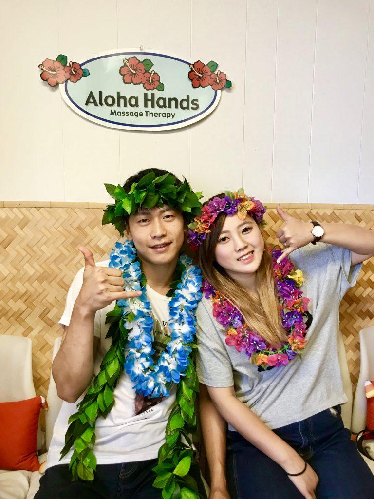 新婚旅行でハワイに訪れました!
