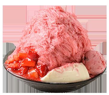 フレッシュイチゴかき氷