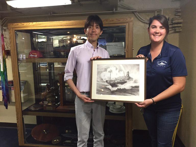 戦艦大和の作品展示