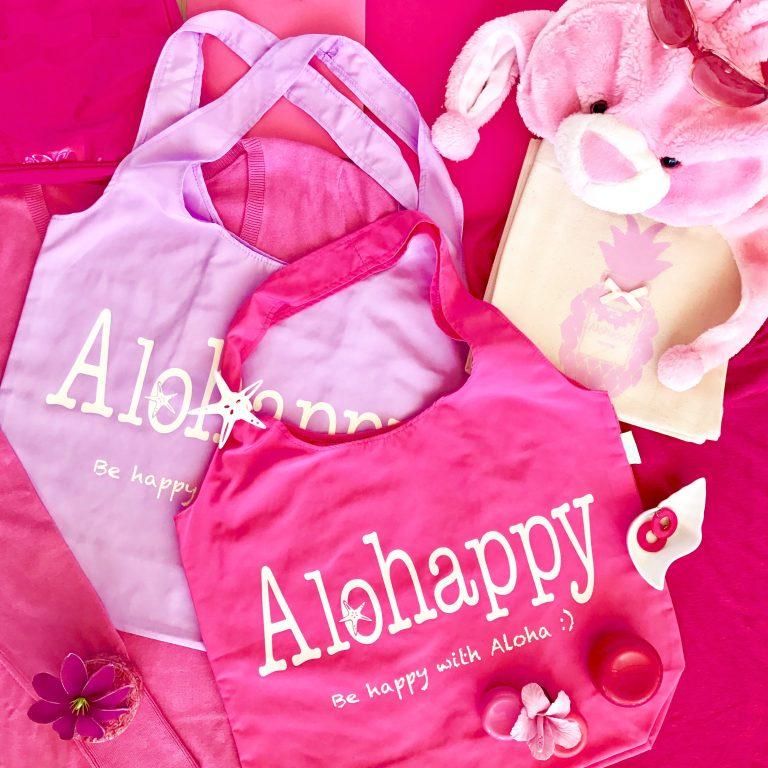 ♡ピンク系エコバッグで女子力も気分もUP!♡