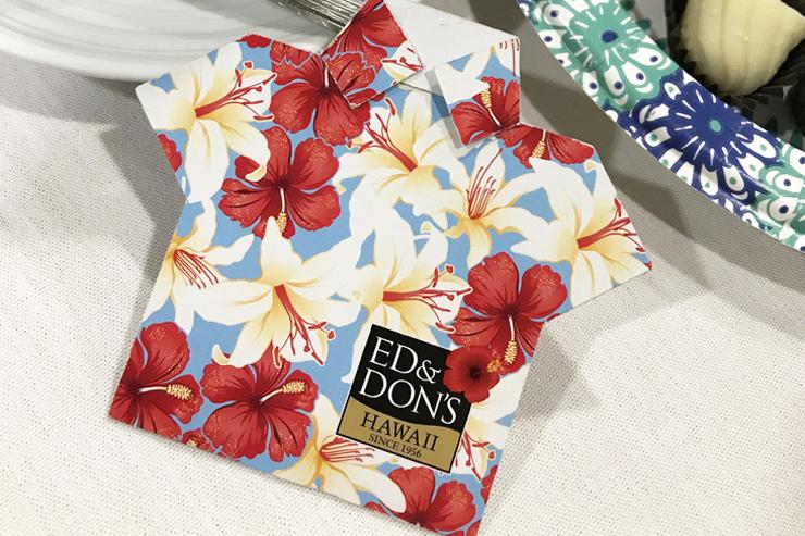 エド&ドンズ・オブ・ハワイの新商品お披露目会へ!