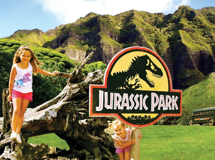 映画ジュラシックパークのロケ地は最高のフォトスポット!