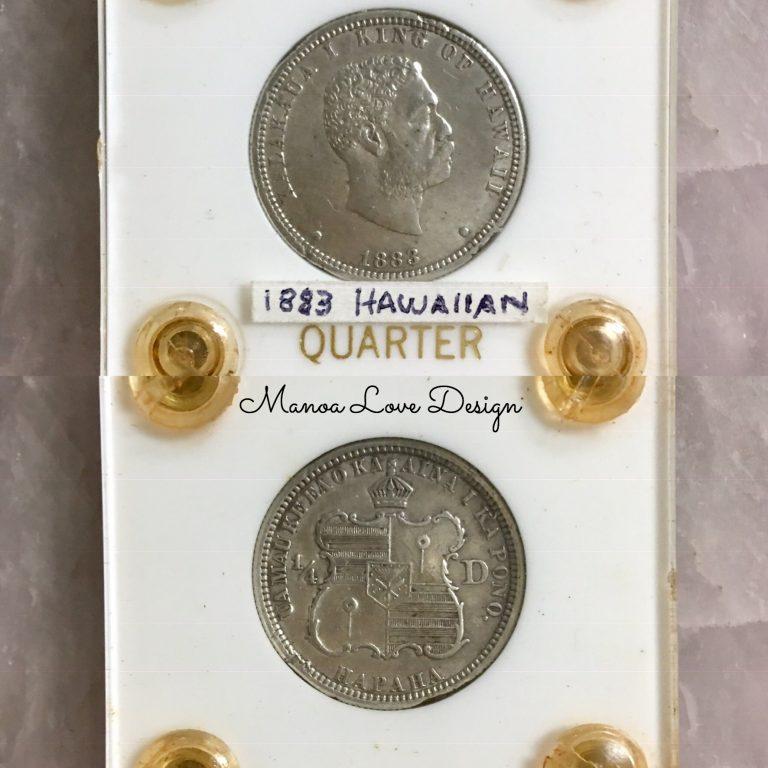 1883年ハワイアンコイン