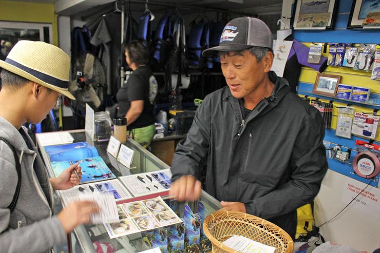 チェックイン時に日本語でていねいに説明してくれる。