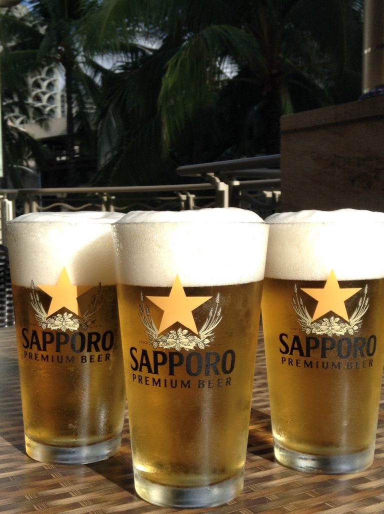 KAIWAホノルルマラソン応援企画★完走Tシャツで生ビールが1ドルに!