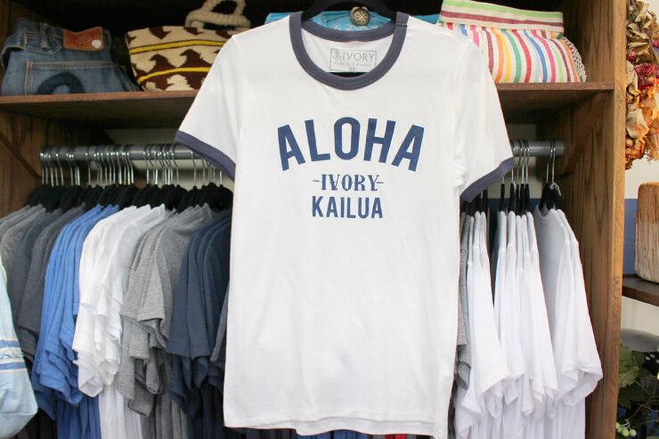 アイボリーのオリジナルTシャツ