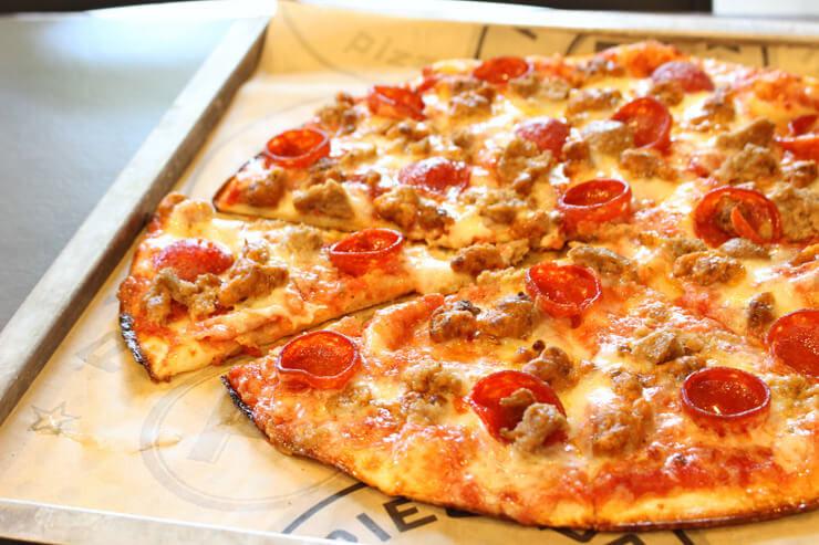 パイオロジー・ピッツェリアのピザ