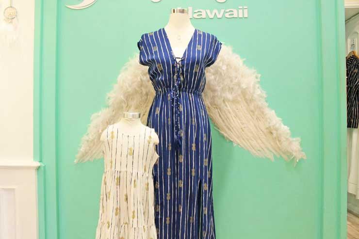 ハワイで着たい!天使のリゾートドレスコレクション
