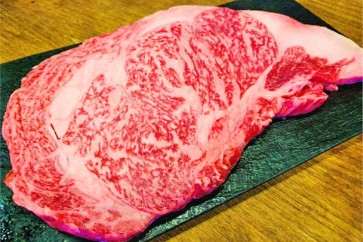 A5ランク黒毛和牛リブアイステーキ(時価)