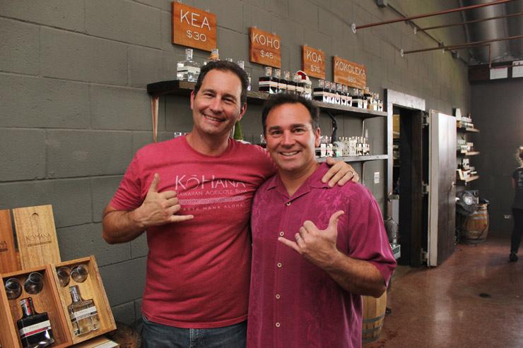 左から、共同創設者のロバートさんとジェイソンさん