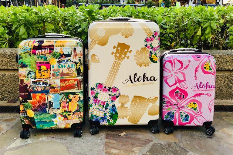 ★ハワイ柄のスーツケース★