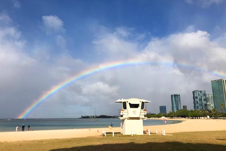 旅行前にチェック! ハワイの気候と気温&服装