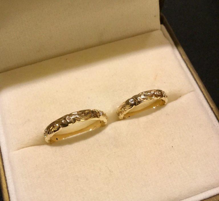 ハワイでお選びいただくご結婚指輪