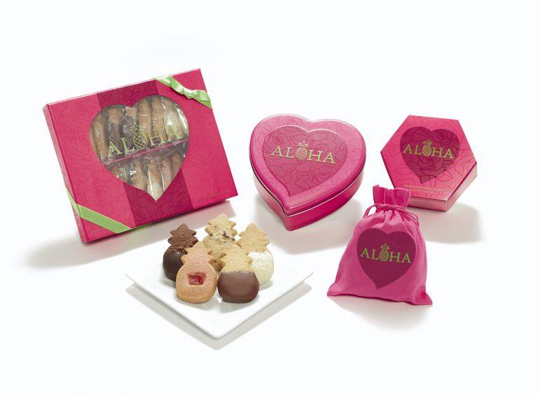 バレンタインはハワイのクッキーでアロハをお届け