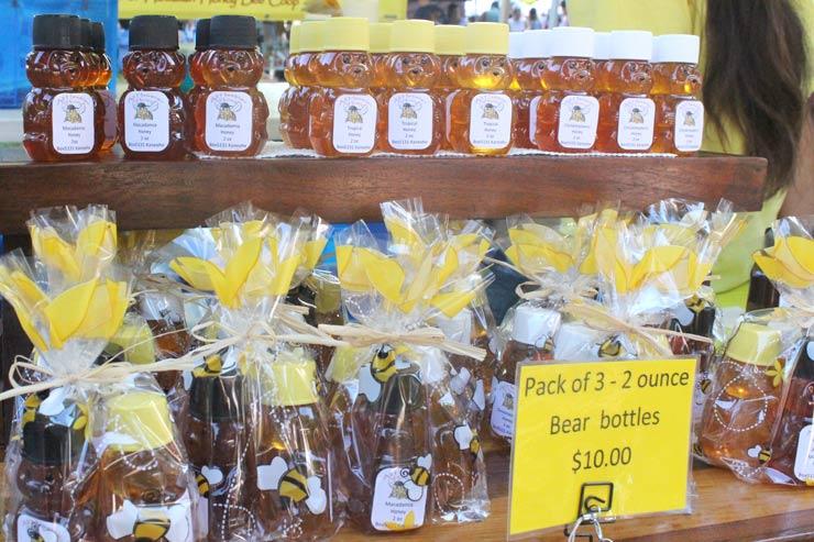 くまさんのボトルがかわいいハチミツ