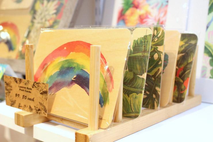 ローカルアーティストのポストカード