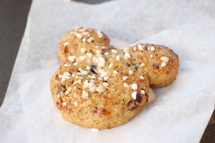 ミッキー型のクッキー
