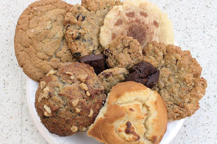 ホームメイドのクッキーやマフィン