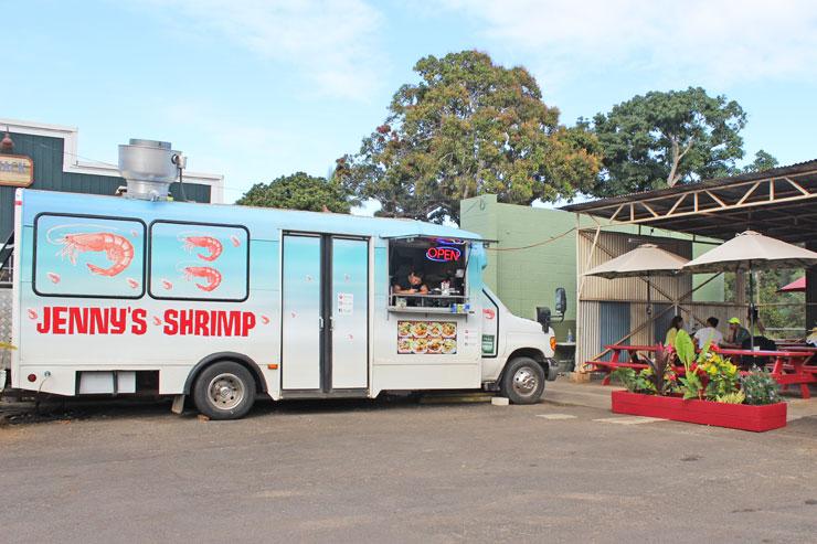 ジェニーズ・シュリンプ・ランチワゴンのトラック