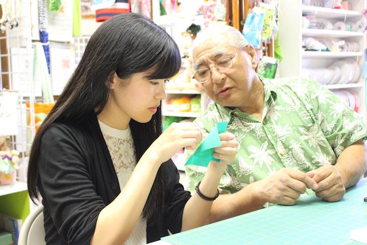 日本語でキルト制作をサポート