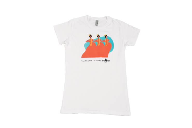 レディース限定デザインTシャツ:$35