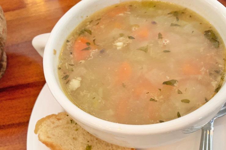 スープ($6)