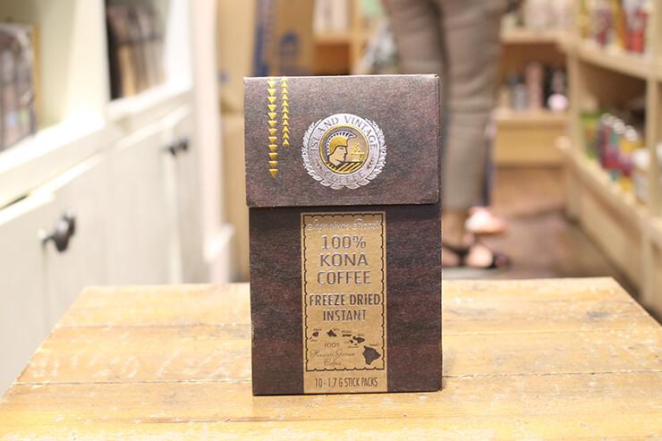 インスタント・コーヒー($13.95)もあり