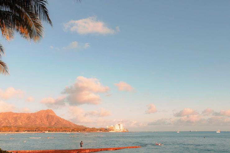 「湧き出す水」の土地…オアフ島ワイキキ編