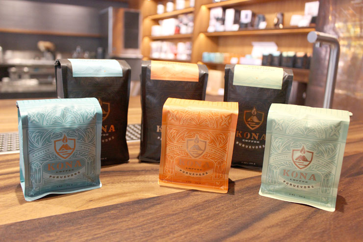 100%コナ・コーヒー:4オンス$15、8オンス$28