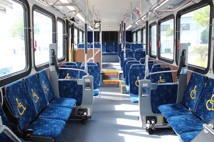 ザ・バスの優先座席