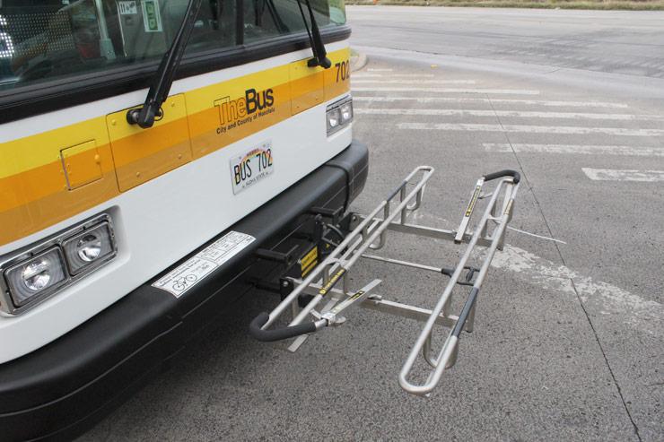 ザ・バスに自転車を乗せる方法