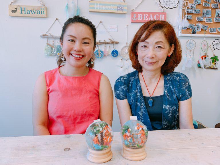 母娘の旅の思い出❤️手作りスノードーム