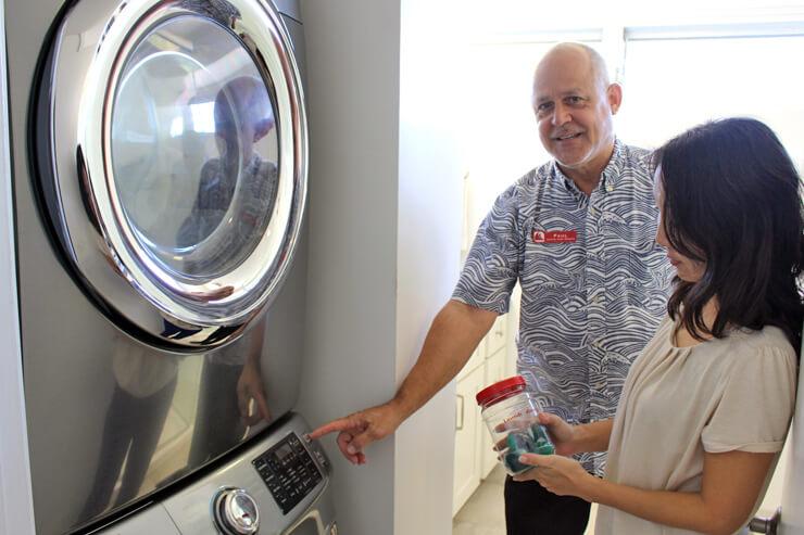 洗濯機、乾燥機があるのでいつでもお洗濯OK!