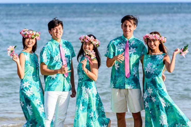 マウナロアMMJハワイ挙式衣装