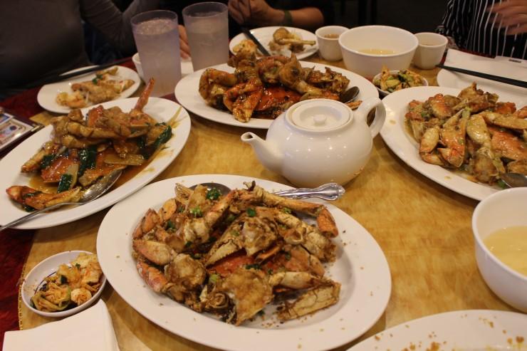 人気ロブスター店で5種の味を楽しむ蟹フェアを開催