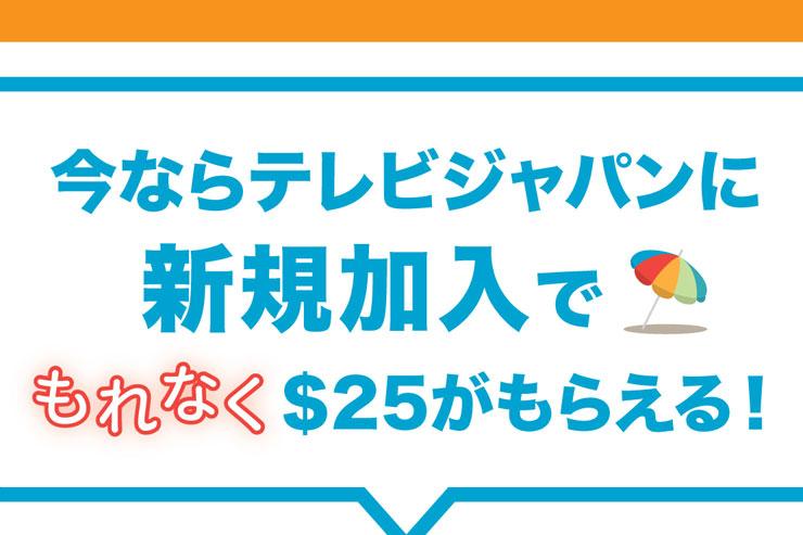 加入するなら今がお得!日本の番組をハワイで視聴