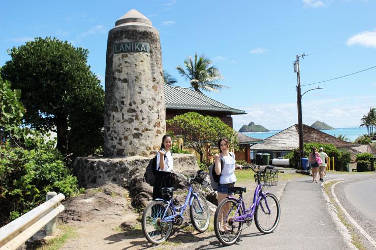 満足度大!レンタル自転車でカイルア&ラニカイを散策