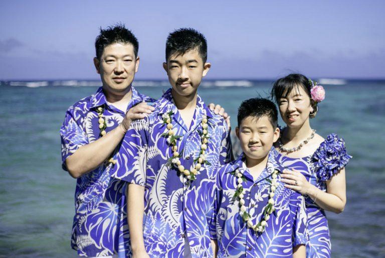 ハワイでフォトツアー|お父様の退職祝いに!