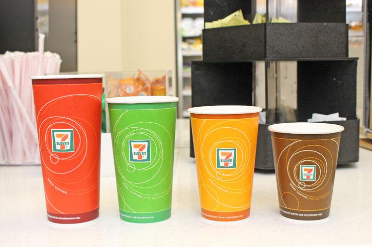 セブンイレブンハワイのコーヒーカップ