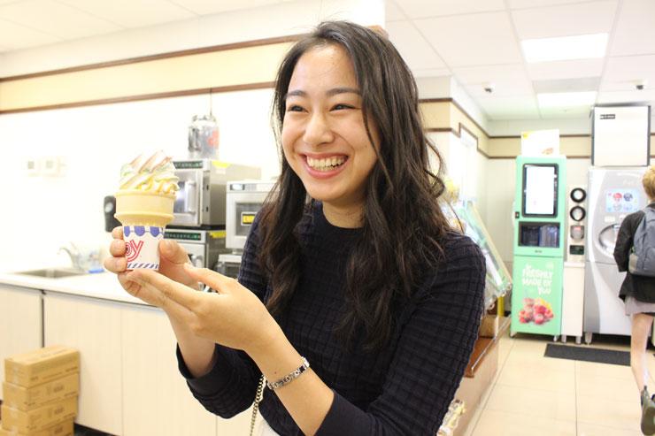 セブンイレブンハワイのソフトクリーム
