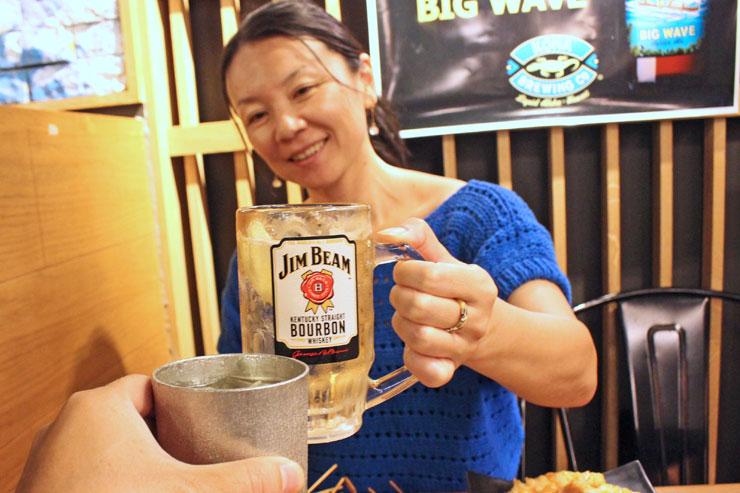 ワイキキで昼から和食で乾杯OK!お酒と料理の旨〜い関係