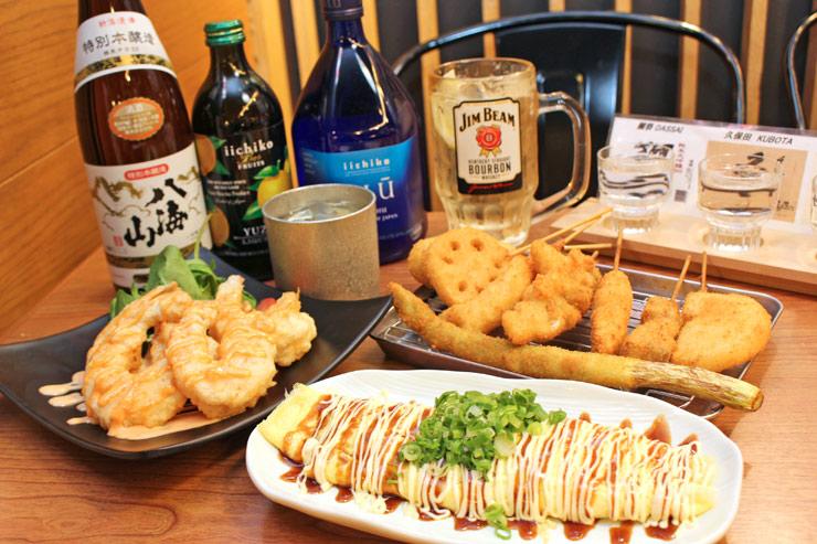 串カツ田中の料理