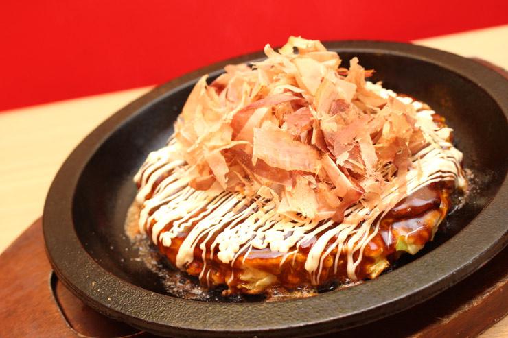 厳選豚のお好み焼き($12.98)